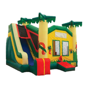 renting inflatable bouncer